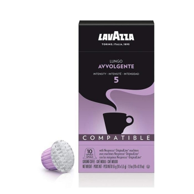 Lavazza Espresso Avvolgente Nespresso®️ Uyumlu Kapsül Kahve 10 Adet