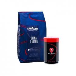 Lavazza - Lavazza Espresso Crema E Aroma 1 Kg & T.Lamborghini 250 Gr Espresso Çekirdek Kahve Hediyeli
