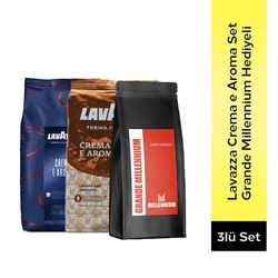 Lavazza - Lavazza Espresso Crema E Aroma Ve Crema E Aroma Çekirdek Kahve
