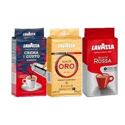 Lavazza - Lavazza Filtre Kahve Seti (Rossa-Oro-Gusto) 250 Gr x 3 Adet