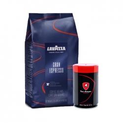 Lavazza - Lavazza Gran Espresso Blue 1 Kg & T.Lamborghini 250 Gr Espresso Çekirdek Kahve Hediyeli