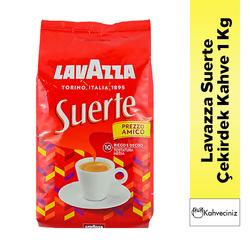 Lavazza - Lavazza Suerte Çekirdek Kahve 1 Kg + 250 Gr Grande Millennium Hediyeli (1)