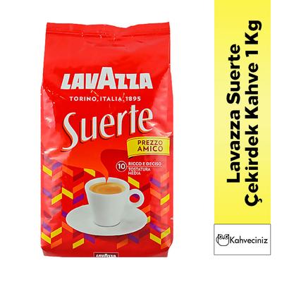 Lavazza Suerte Çekirdek Kahve 1 Kg