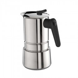 Pedrini - Pedrini Acciaio Moka Pot 4 Cup - Alüminyum
