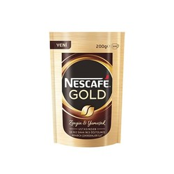 Nescafe - Nescafe Gold 200 Gram Eko Paket
