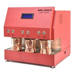 Selizza - Selizza Keyfi Köpük Türk Kahve Makinesi Kırmızı