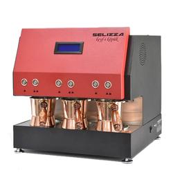 Selizza - Selizza Keyfi Köpük Türk Kahve Makinesi X-Kırmızı