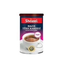 Shazel - Shazel Hazır Türk Kahvesi 500 Gr Şekerli