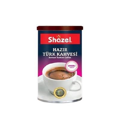 Shazel Hazır Türk Kahvesi 500 Gr Şekerli
