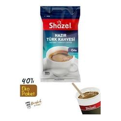 Shazel - Shazel Hazır Türk Kahvesi Eko Kutu 40 Adet Bardaklı-Orta
