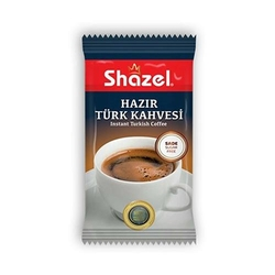 Shazel - Shazel Hazır Türk Kahvesi Eko Kutu 40 Adet Bardaklı-Sade (1)