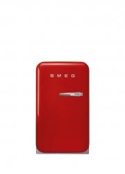 Smeg - Smeg Siyah Mini BAR Buzdolabı ,Sol Menteşe