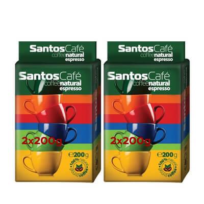 Spetema Santos Filtre Kahve 2*200 Gr