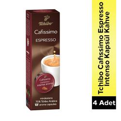 Tchibo - Tchibo Cafissimo Espresso Intense Kapsül Kahve 4 Lü Set